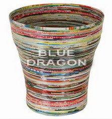 Blue dragon water jug