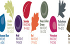 Pantone's Top 10 Womens Colours Palette for Fall 2013