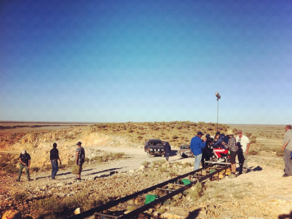 Mystery Road on location