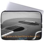 guitarist laptop sleeve
