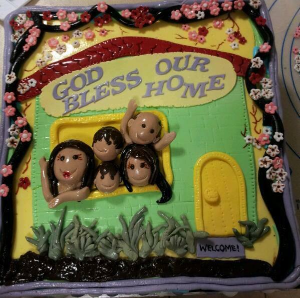 Avie-3D family cake