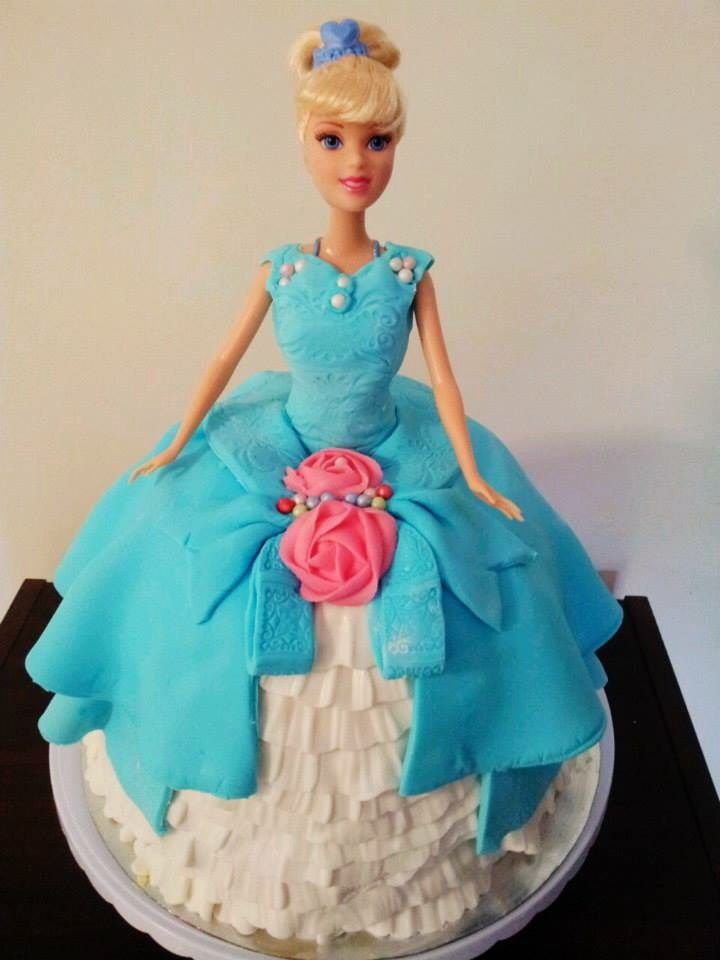 Avie-Cinderella Doll Cake