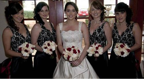 Wedding & bridemaids