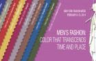 Men's Colours — PANTONE Fashion Color Report Fall 2014