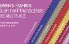 Women's Colours — PANTONE Fashion Color Report Fall 2014