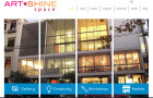 ArtSHINE Space & Gallery Website is Now Live!