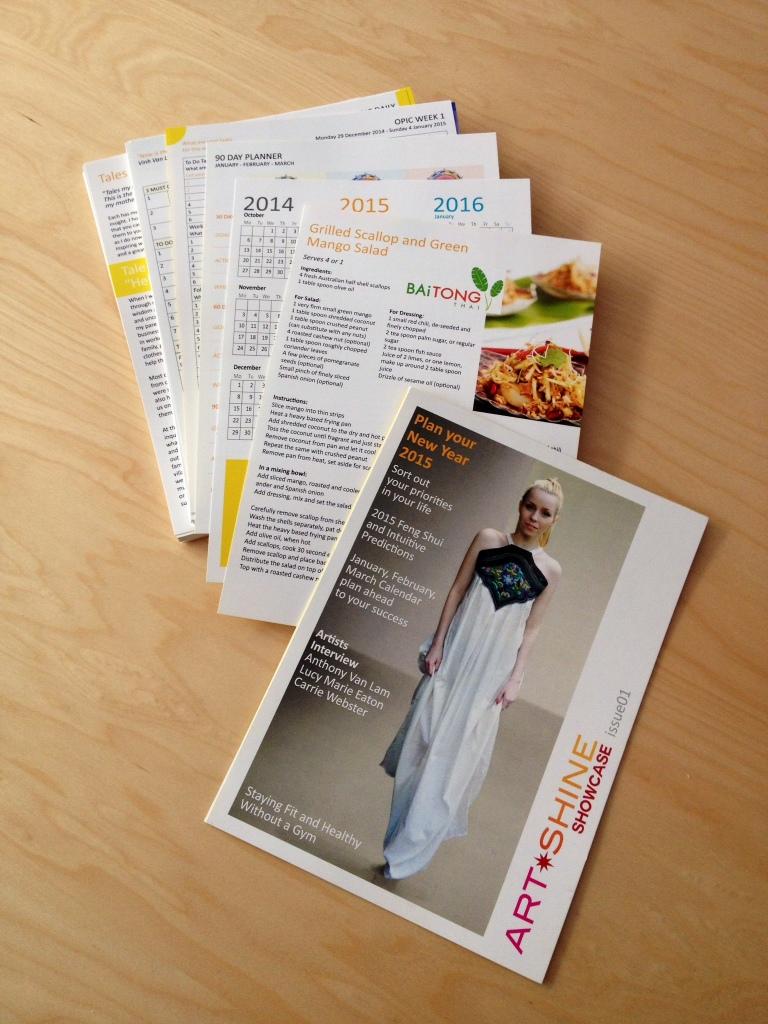 Artshine Mage issue contents