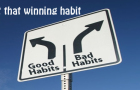 Get that winning habit