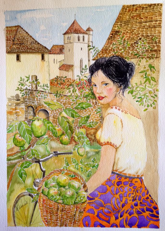 French Village bty Helen Dubrovich