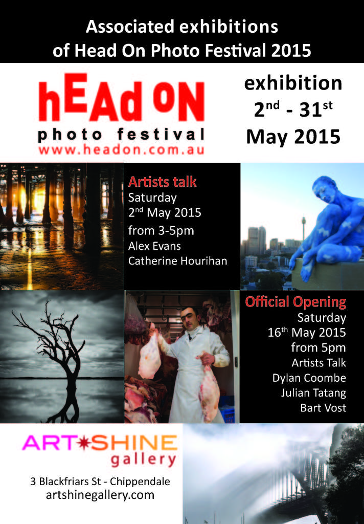 Head on Photo Exhibition Invitation