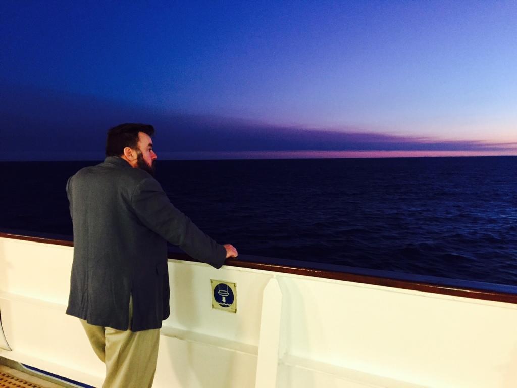 Stuart Gaze to the sunset
