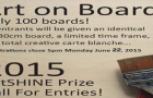 "Call for Entries  ""Art on Board"" ArtSHINE Gallery Art Prize. Registration Date extended until June 22, 2015"