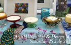 ArtSHINE Winter Art & Design  Market this Saturday 25 July is housed @ CoSydney, Chippendale