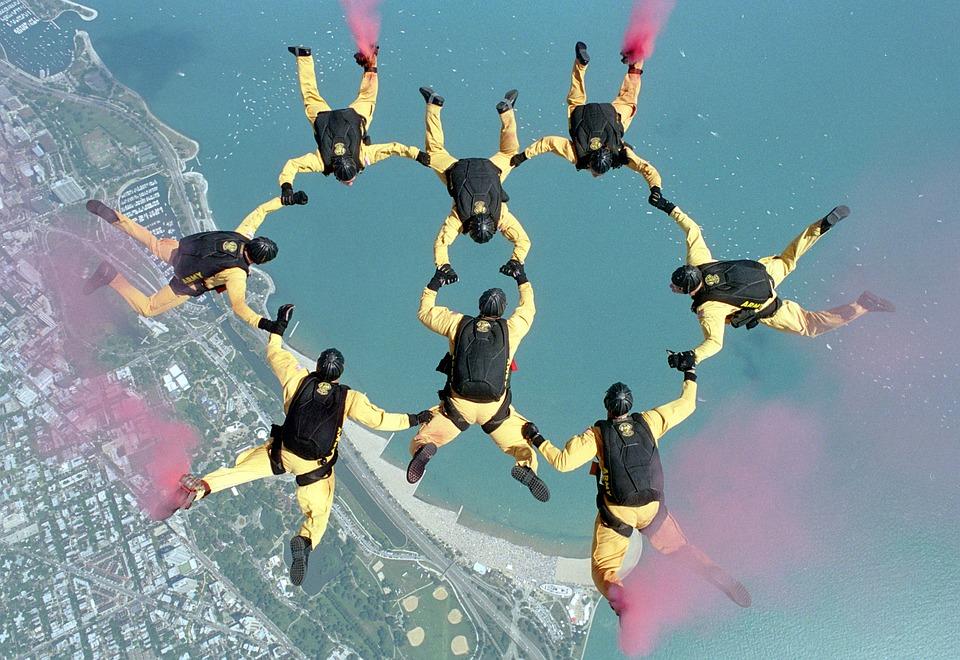 skydiving HRES