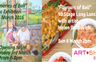 "You're invited to ""Flavours of Bali"" A 10 Stage Long Lunch with Artist Helen Dubrovich"