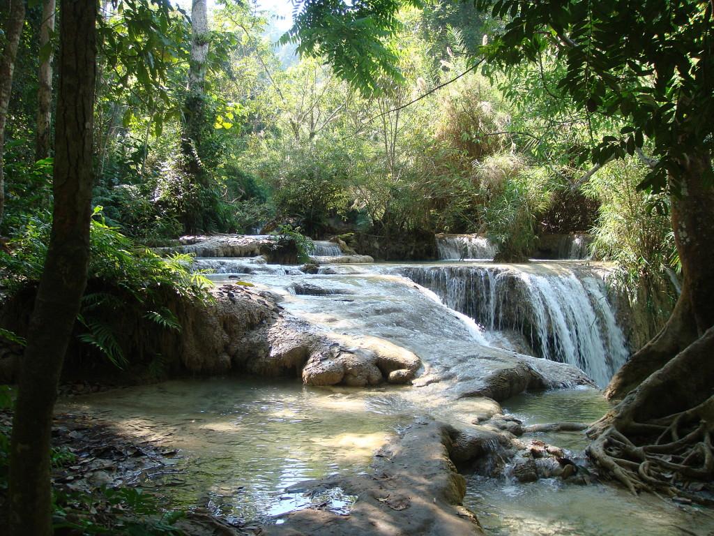 Waterfall- Luang Prabang