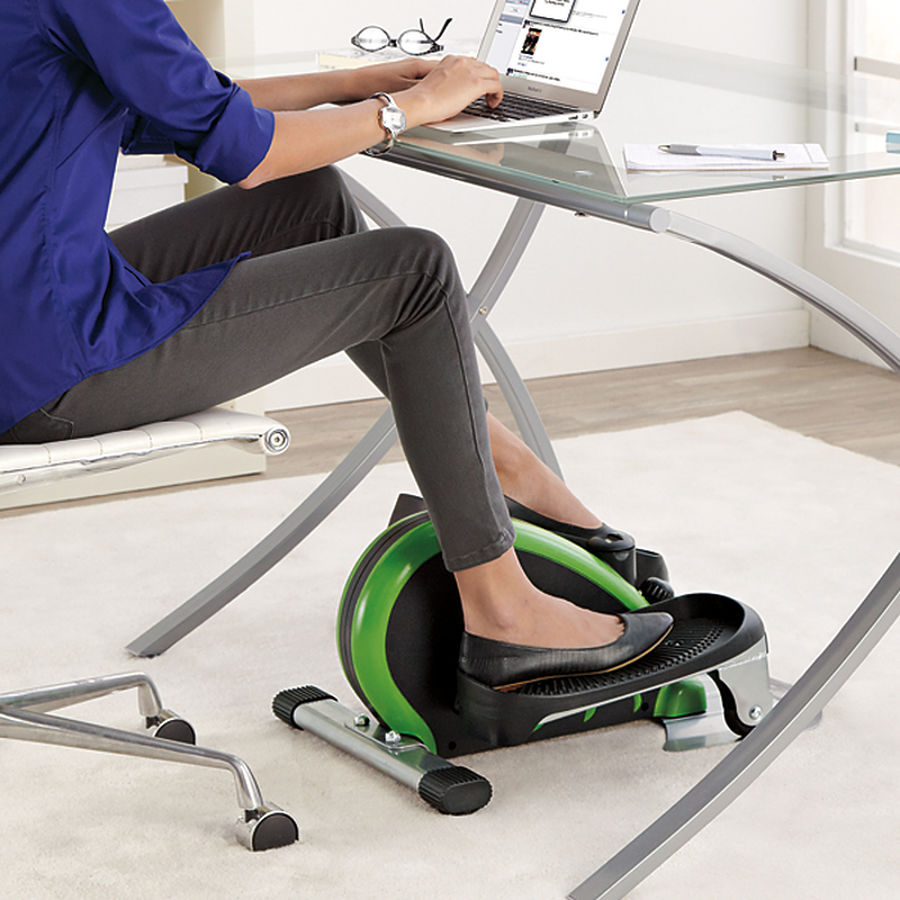 leg exercise at desk