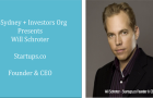 CoSydney + Investors Org Presents: Will Schroter Startups.co Founder & CEO, Monday 4 April 4 – 6pm.