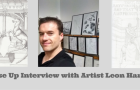 Close Up Interview with Artist Leon Harvey