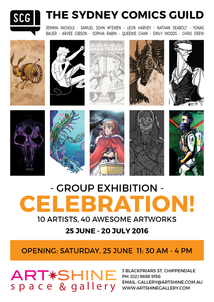 ArtSHINE.com.au-SCG Group Show-Celebration
