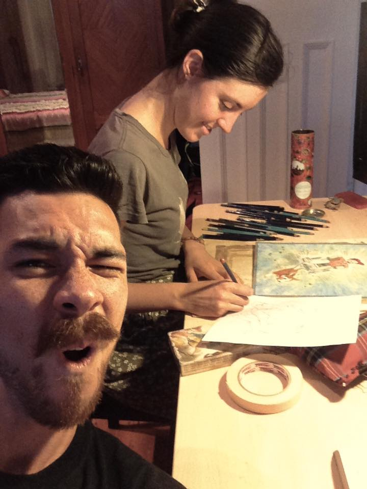 ArtSHINE.com.au-Jemima and Robbie (husband)