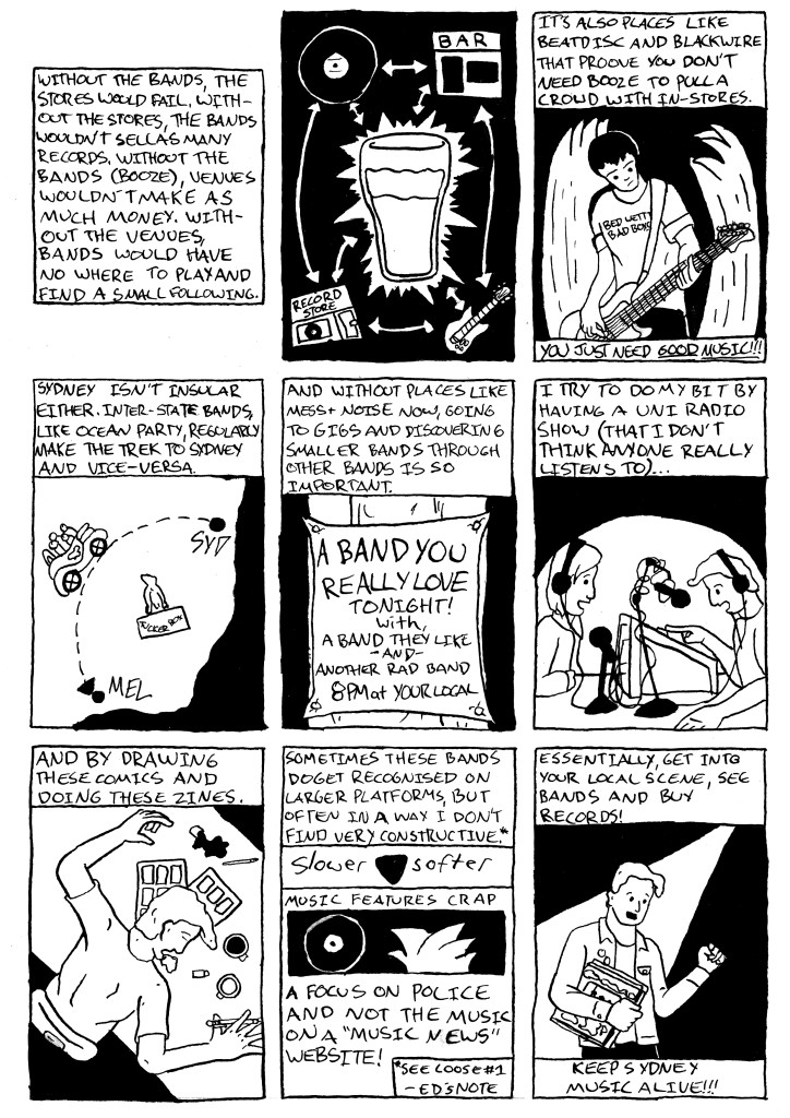 Live Music Is Dead Untitled Page (Page Two of Two, Panels 10-18 of 18)