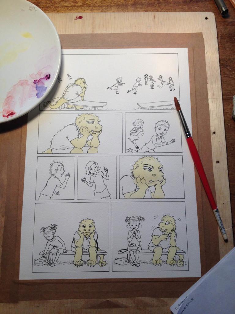ArtSHINE.com.au-a comic page-Jemima-Nichols