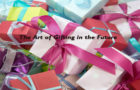 The Art of Gifting in the Future