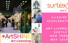ArtSHINE @ SURTEX in New York May 2019