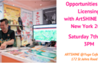 Opportunities in Art Licensing with ArtSHINE – Surtex New York 2019